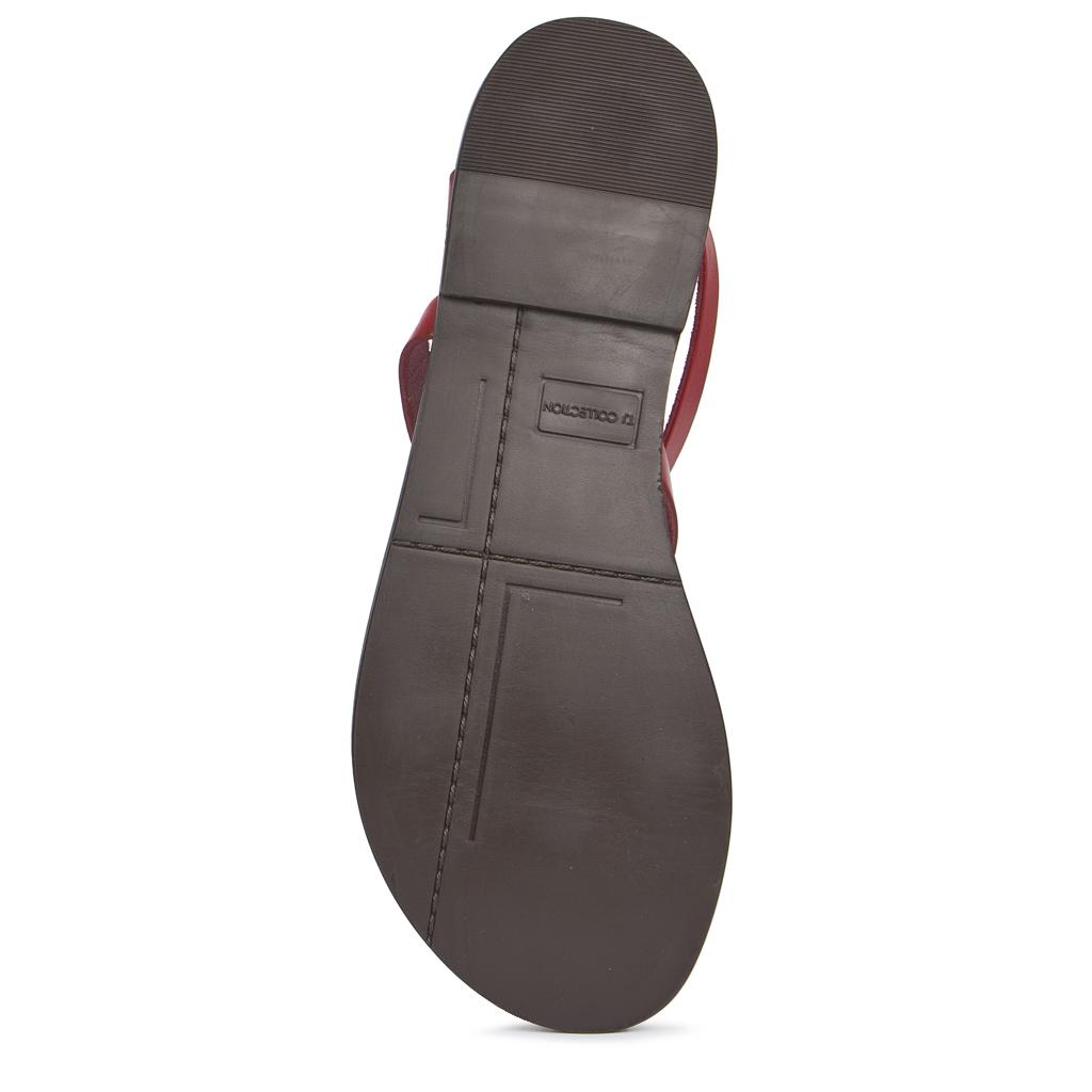 7cb090a57 ... Красные сандалии из кожи GA 5100019 RDA. ‹ ›